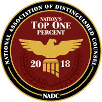 National Assoc. of Distinguished Counsel Award