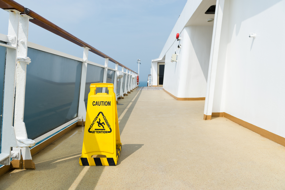 slip and fall in cruise ship