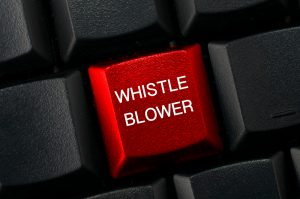 black keyboard with whistle blower words